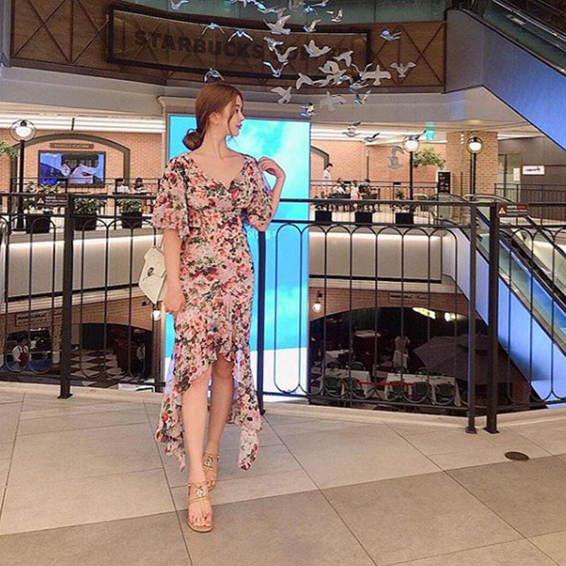 [韩国评价] 鱼尾裙的设计, 修饰身形看起来更漂亮了!