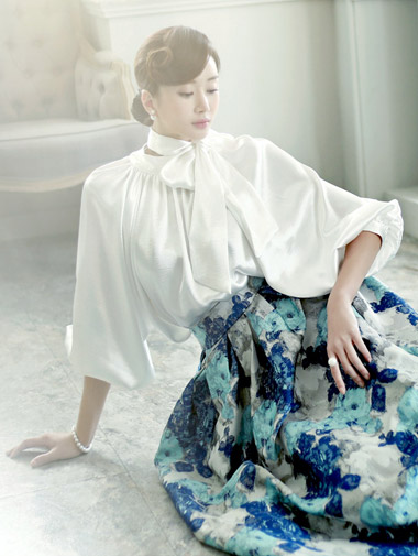 B-892丝毛服务围巾女衬衫(8次再有库)
