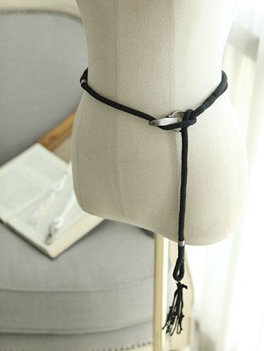 政变-001绳条纹腰带