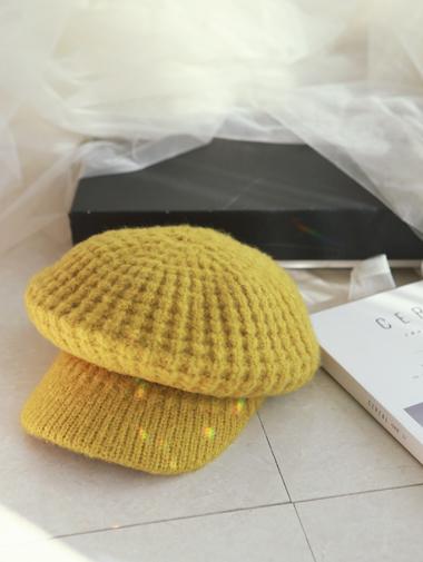 AC-418柔丝羊毛贝雷帽