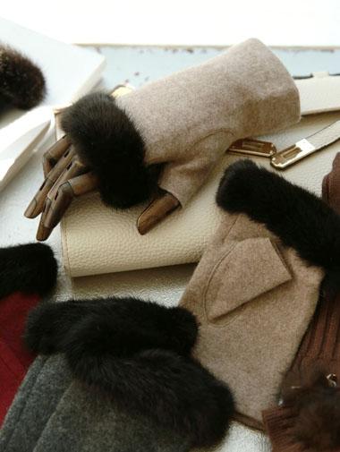 AH-羊毛缓存130毛皮草手套(4次再有库)
