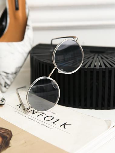 EC-139金属圆形太阳眼镜/墨镜