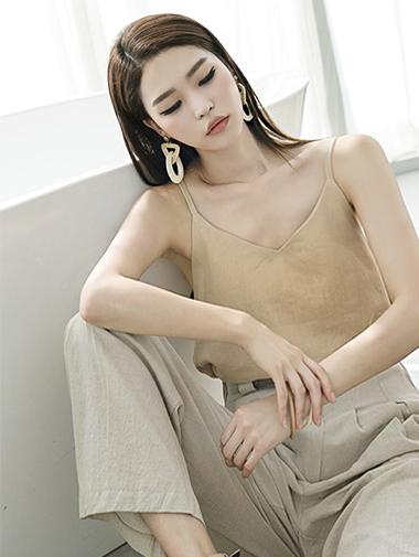 E1763 Choice Basic亚麻心心/打底衫胸胸