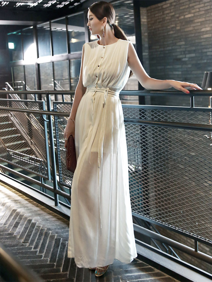 D3380 Florian Opener Maxi连衣裙(腰带套装)(28号重新储存)