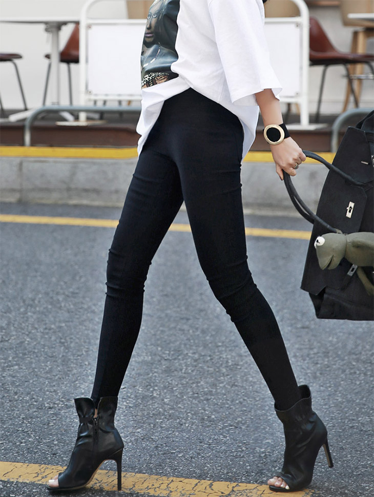 P-1810原创作打底裤短裤* L尺码制作*(68再进货)