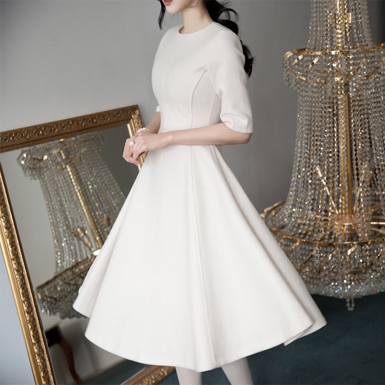 D3460 A字型连身裙 *L尺码制作* (59th REORDER)