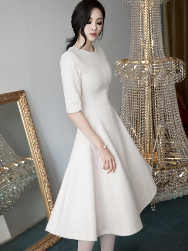 D3460 Jemp A线条连身裙* L尺寸制作*(59进货)