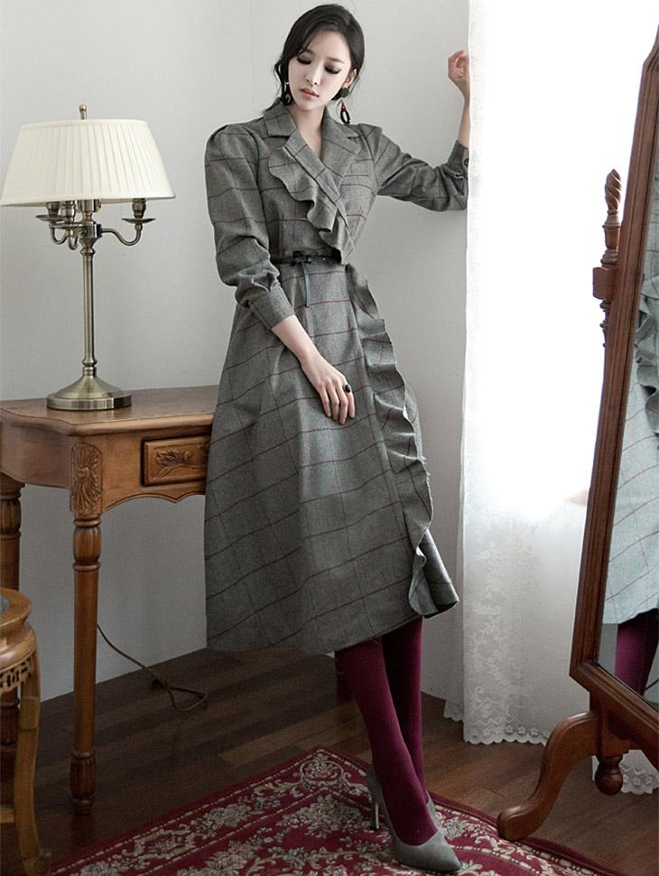 D3458 Roubing load领连裙(腰带套)* L尺寸制作*(48进货)