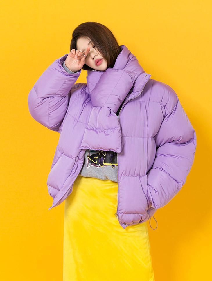 J505 保暖外套 (围巾组合)