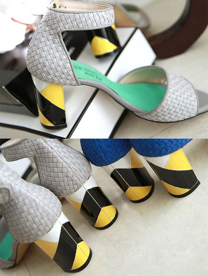 HAR-583透气鞋踝皮条/束带希尔*手工制作*