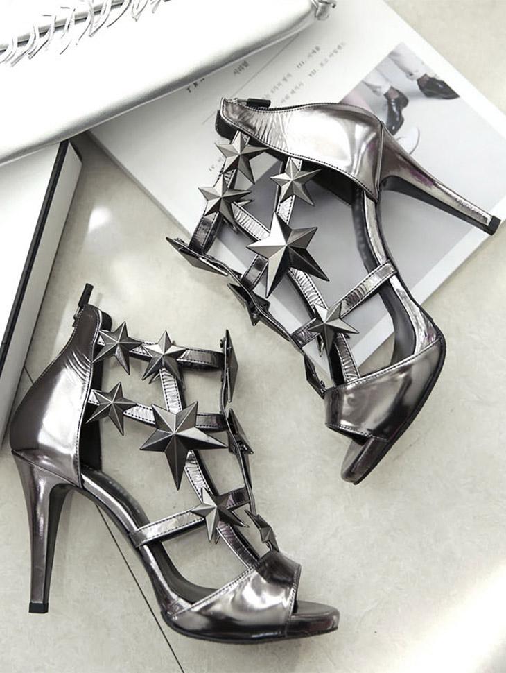 HAR-584角斗士露趾鞋跟*手工制作*