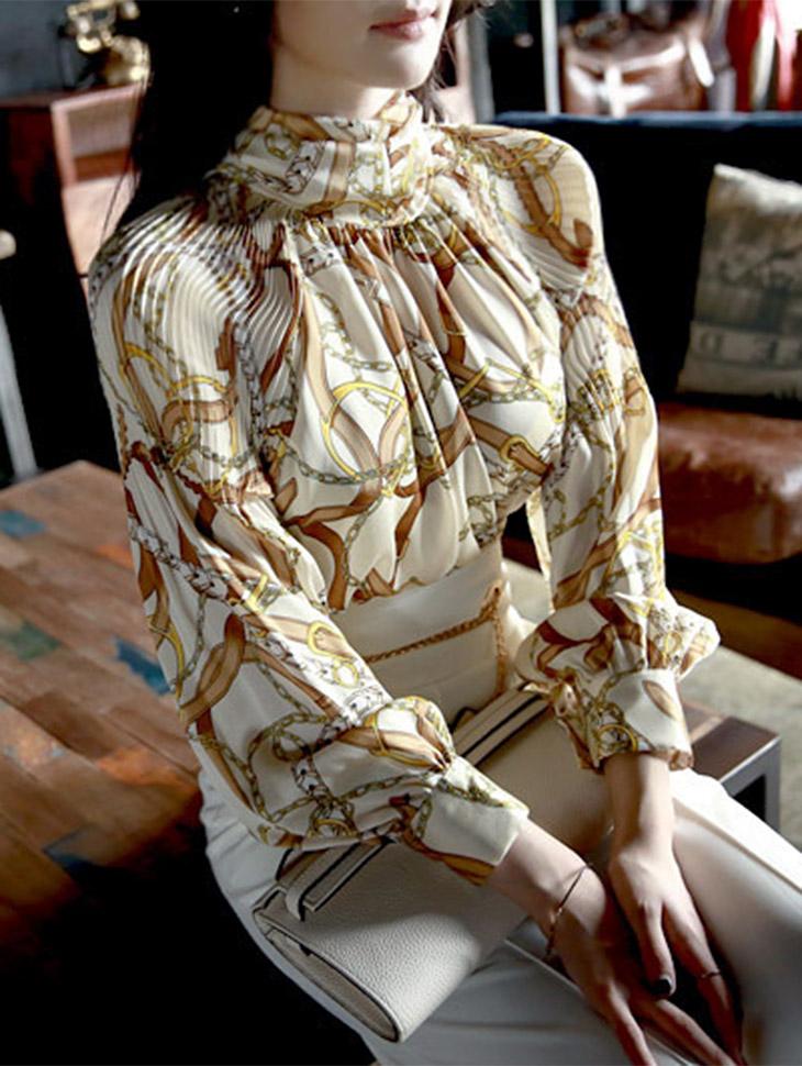 金戒指围巾B2065女衬衫(20次再有库)