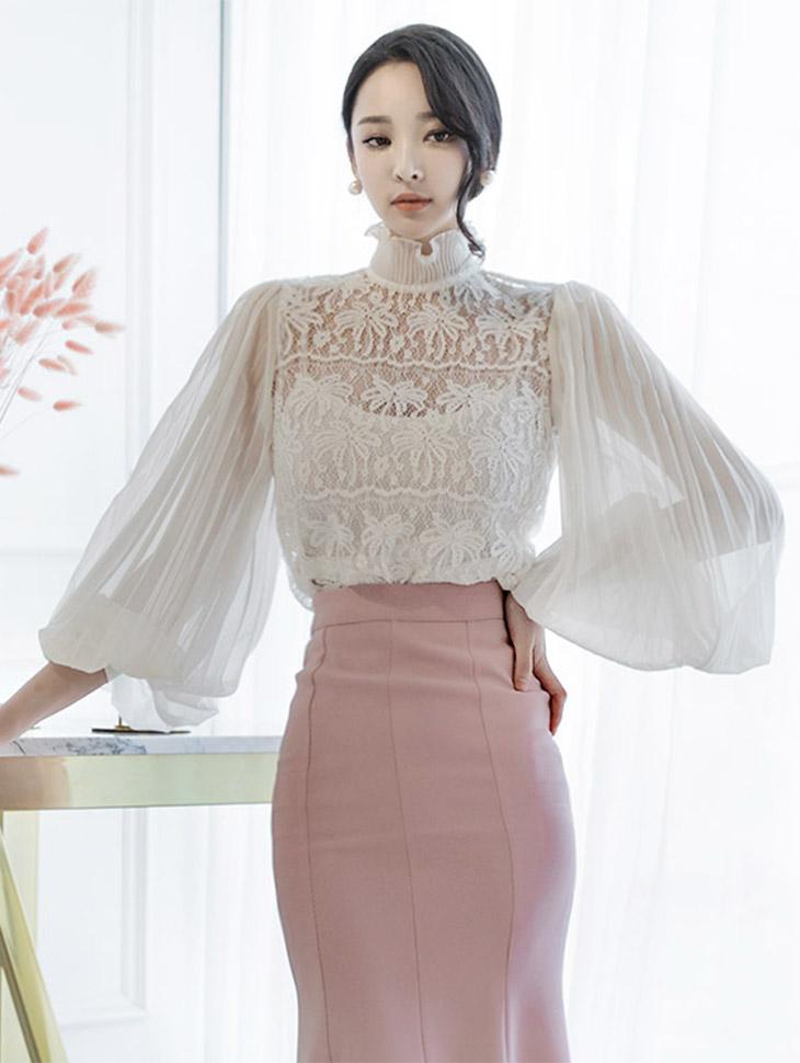 B2165蕾丝丝透明透明女衬衫(内套)(27号重新储存)