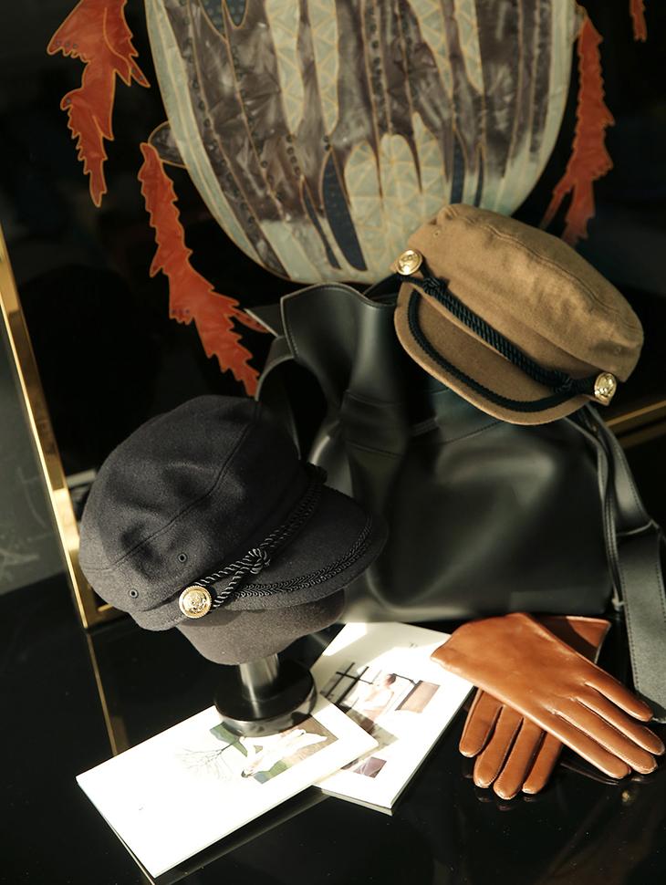 AC-499绳状羊毛Madoros帽子