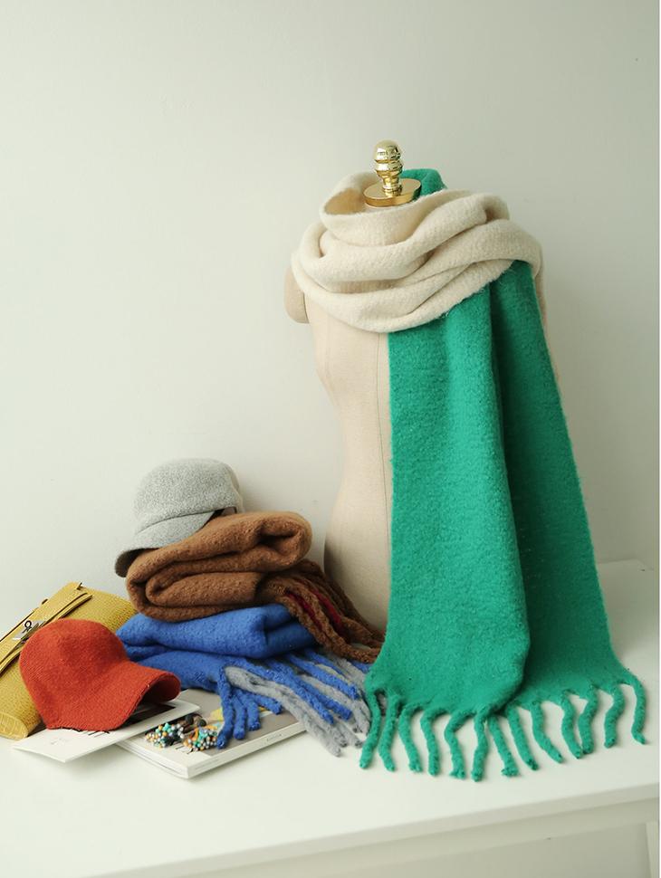 AS-1345 Color Chip Flex丝围巾