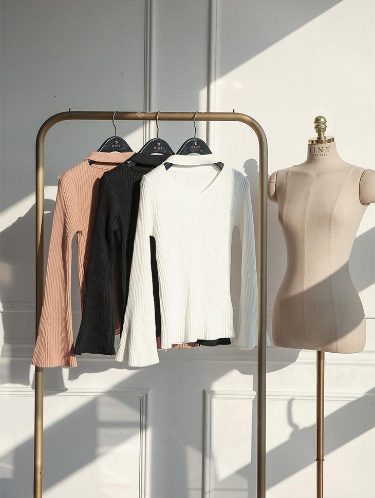 E1860短项链Poinsack肩身衬衫磁性胸部(第3次重新订购)