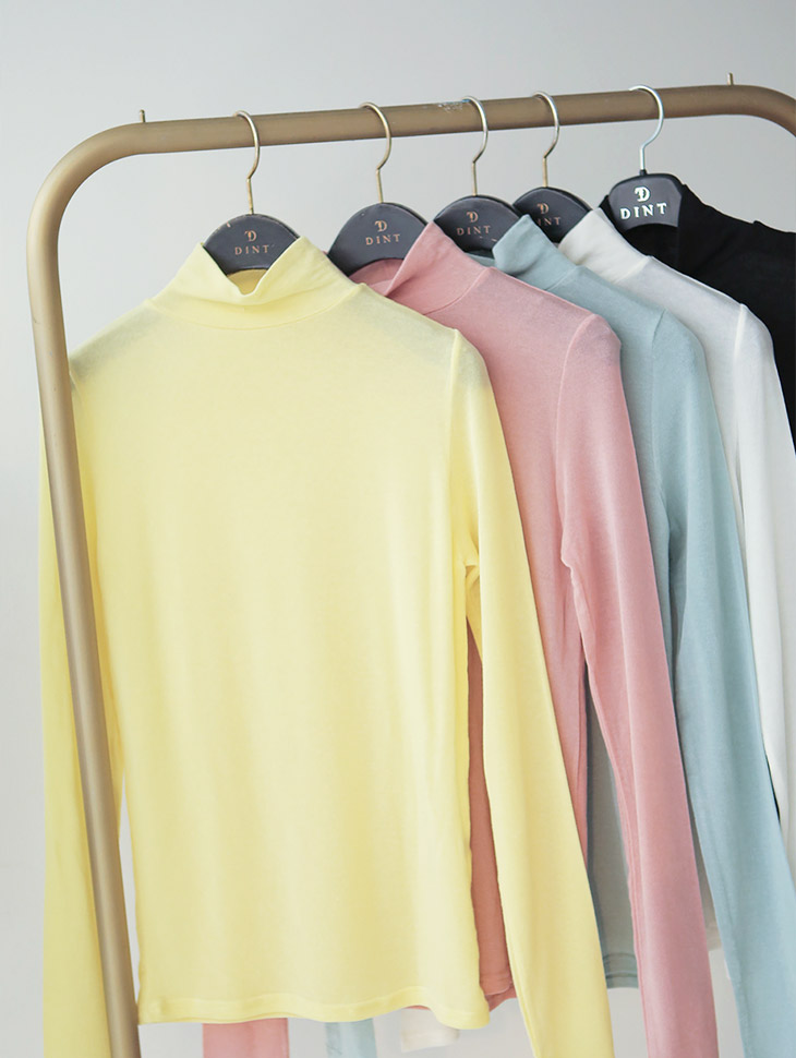E1891粉色基本款Paula上衣