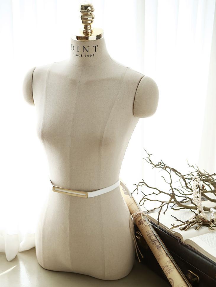 AT-181金方奢华裙腰带