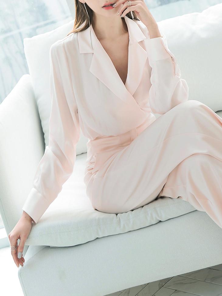 B2357 Kerr绸缎女衬衫