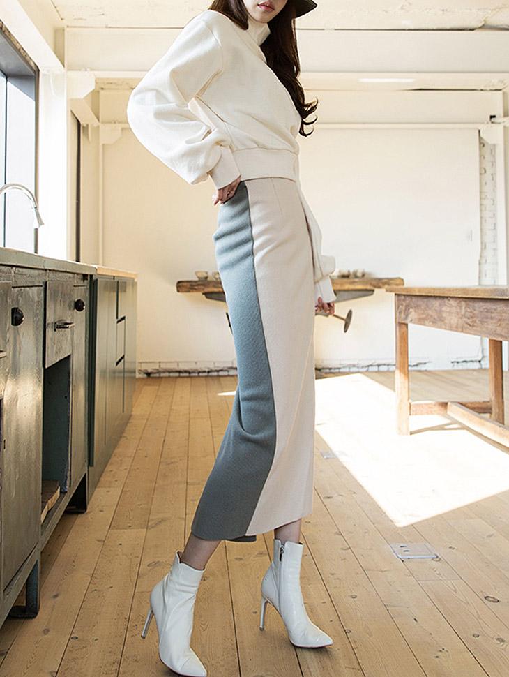 SK1837短外套长度和配色针织衫子(生产期2地址,顺序发货时间表)