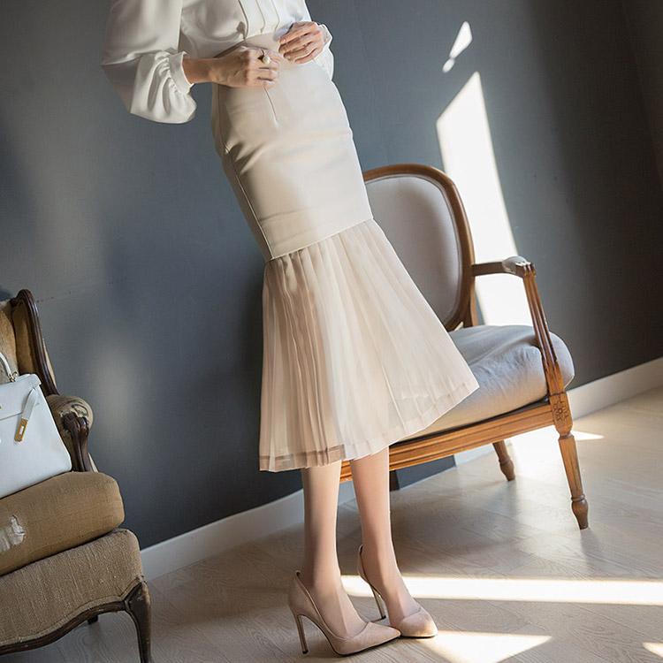 SK1839 皱褶裙