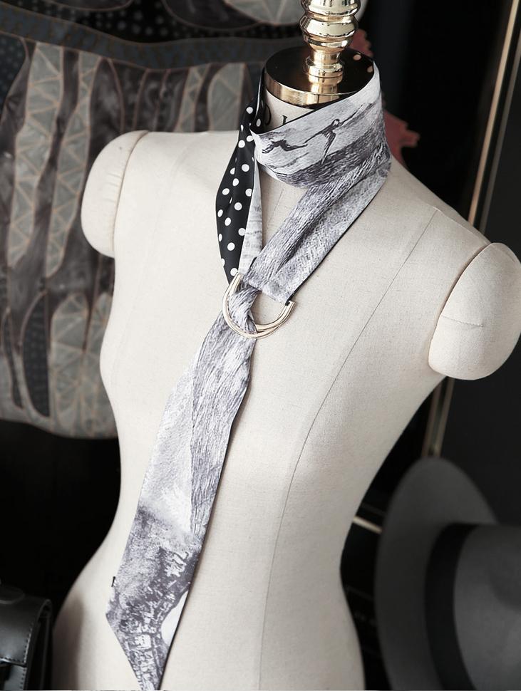 AS-1348 Karlin印花围巾