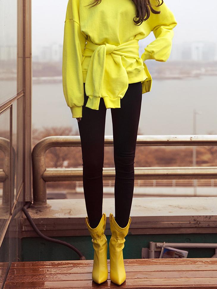 P2005高腰拉链紧身裤短裤* L码制作*(3进进货)