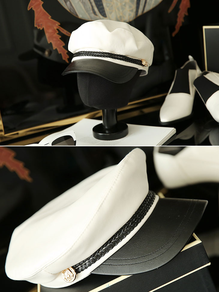 AC-508女士皮革Madoros帽子
