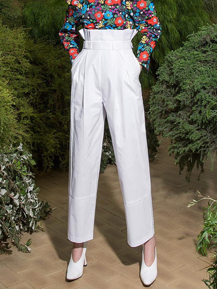 P2009 高腰棉裤 (腰带组合)