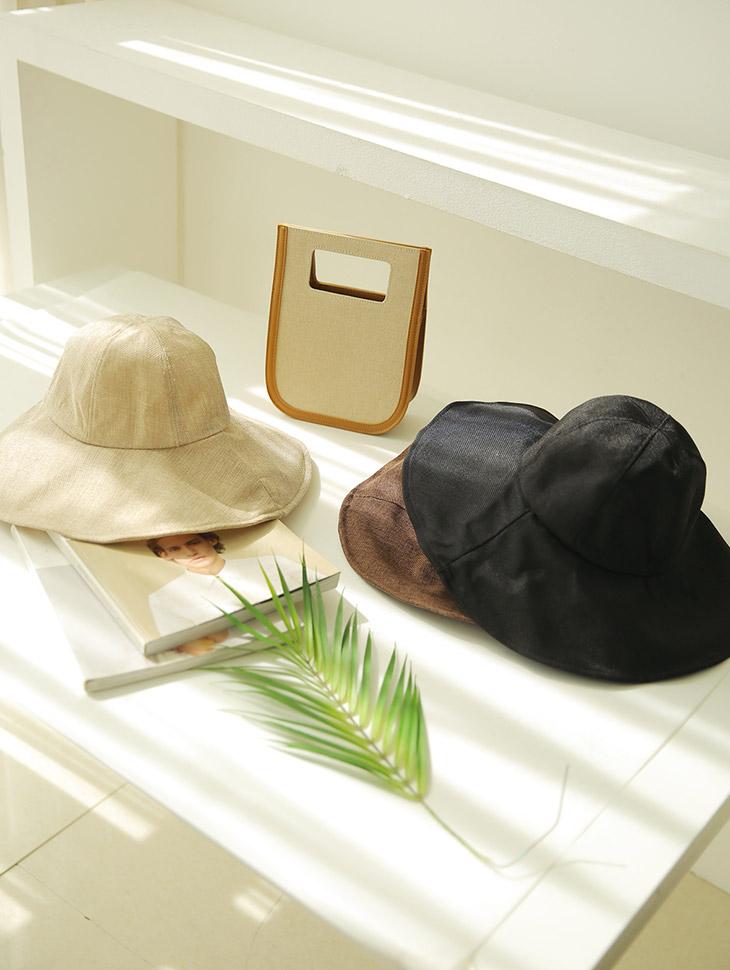 AC-516宽罗纹麻麻车帽