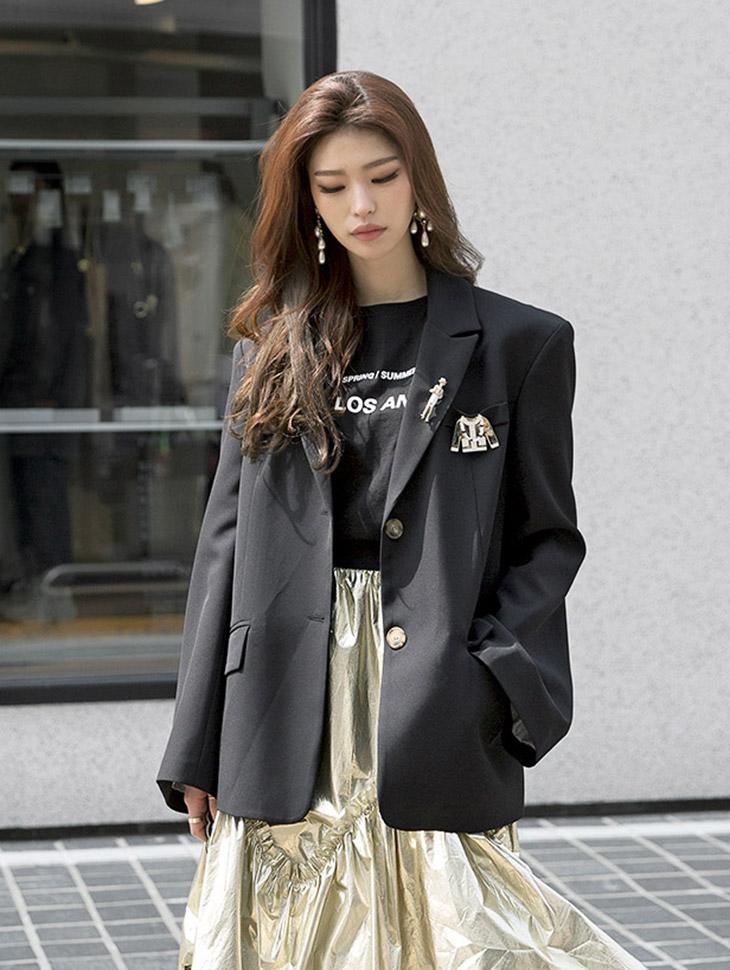 J607 solar슬带夹夹克(腰带套)