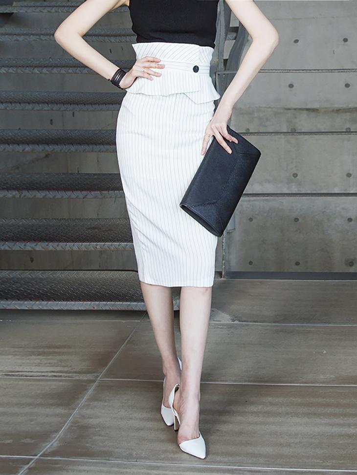 SK1880电视混合高裙子(31进货)
