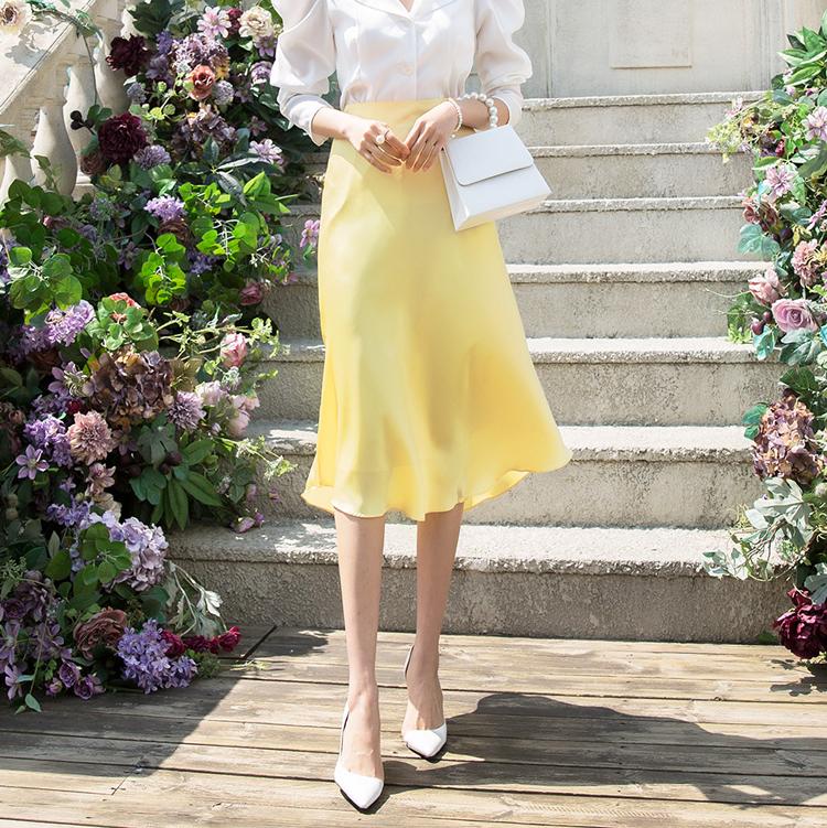 SK1881ローブブ丝绸裙子(31再进货)