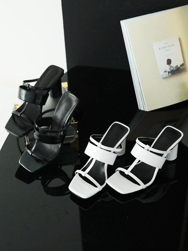AR-2265双层/带状腰封凉鞋鞋跟