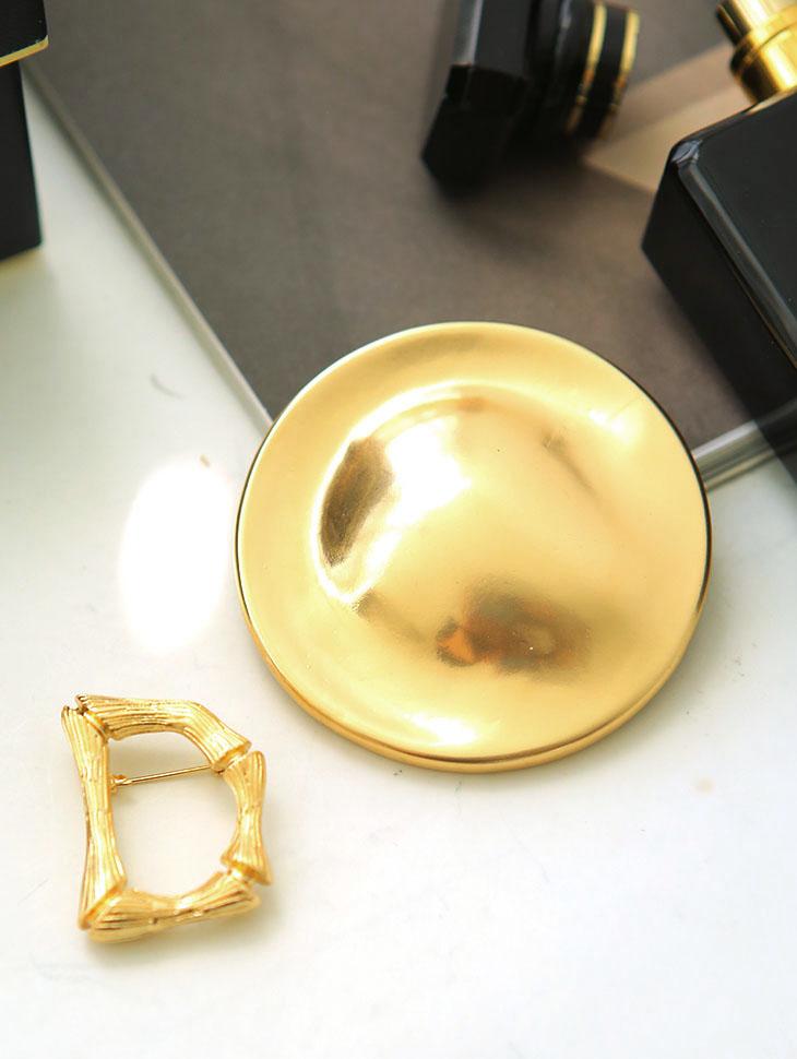 AB-164 Kanins形胸针(2件套)