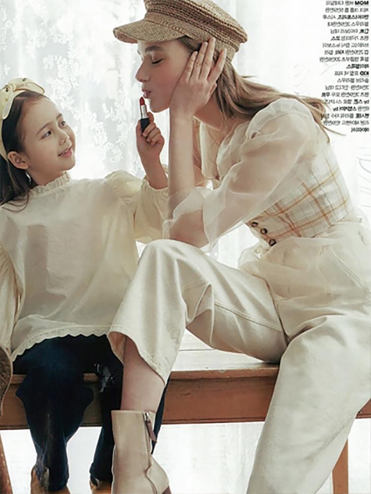 杂志<br><br> <b>一个女人的感觉</b> <br>海外模特<br><br> B2369