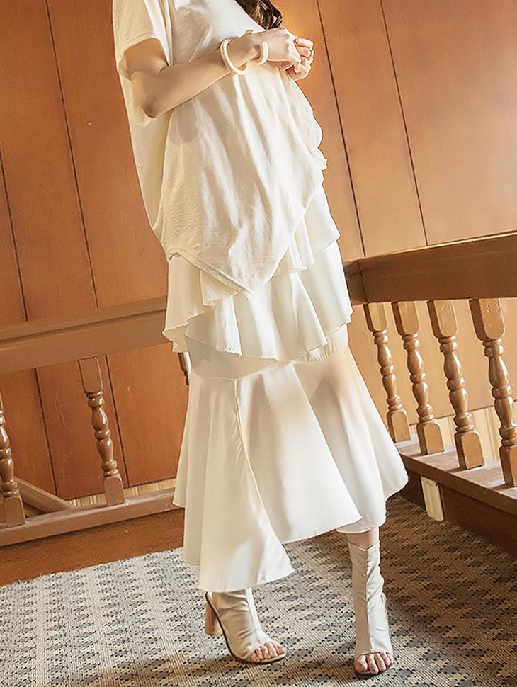 SK1889 Marina不规则发货裙裙子(3进货)