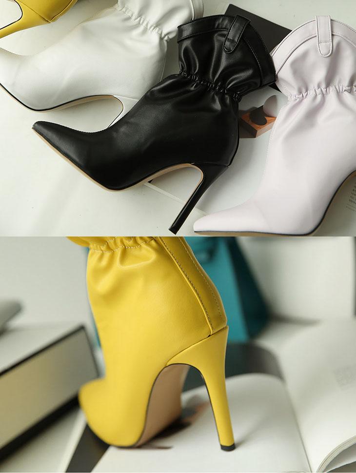 AR-2222 Coloring Ankle Shoe Heel(9进货货)*特价促销*