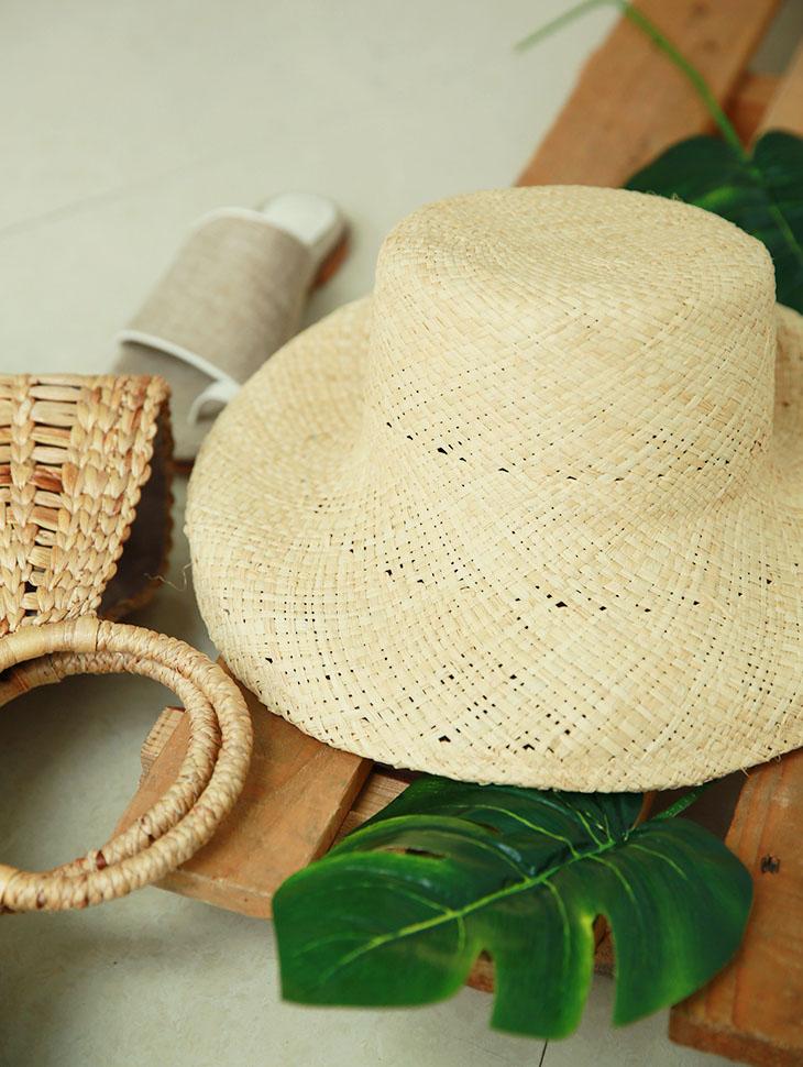 AC-539 Ruffy夏季帽子拉菲草帽