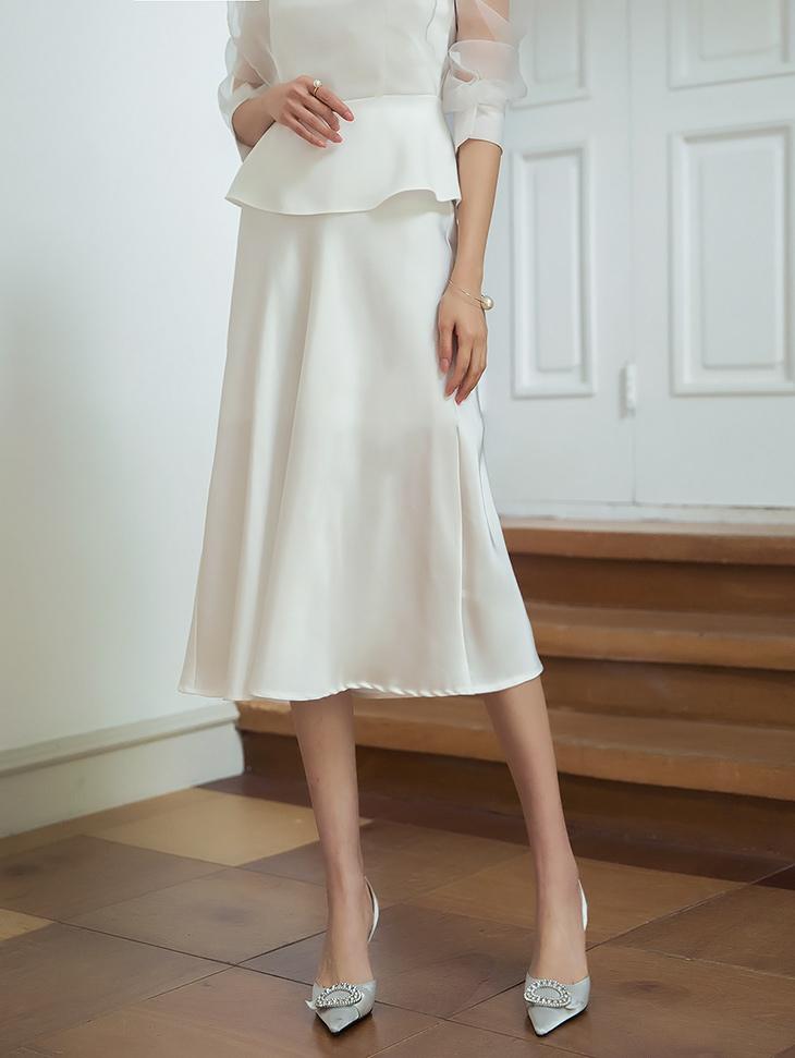 SK1892 素丝滑半身裙