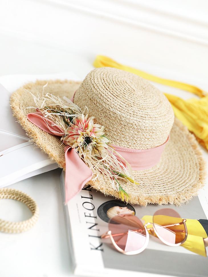 AC-559日佳花卉装饰帽
