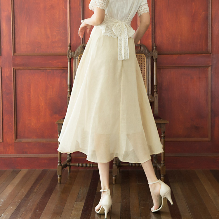 SK1920 A字型长版半身裙 (6th REORDER)