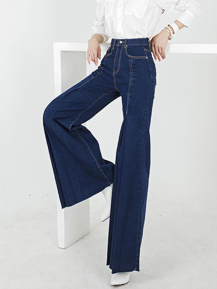 PJ385 单宁长版裤