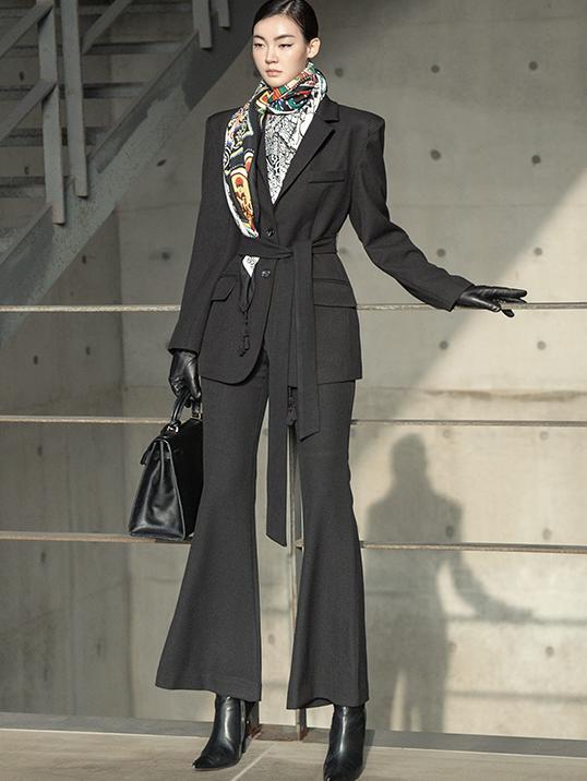 TP1019 摩登组合套装 (夹克腰带)