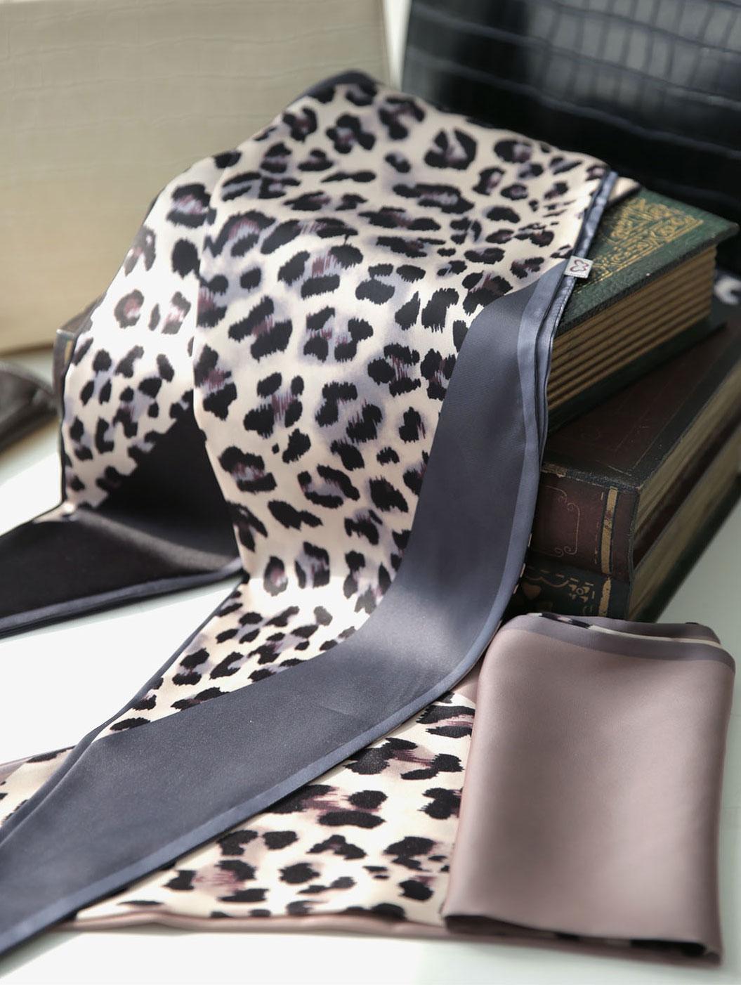 AS-1401 豹纹领巾