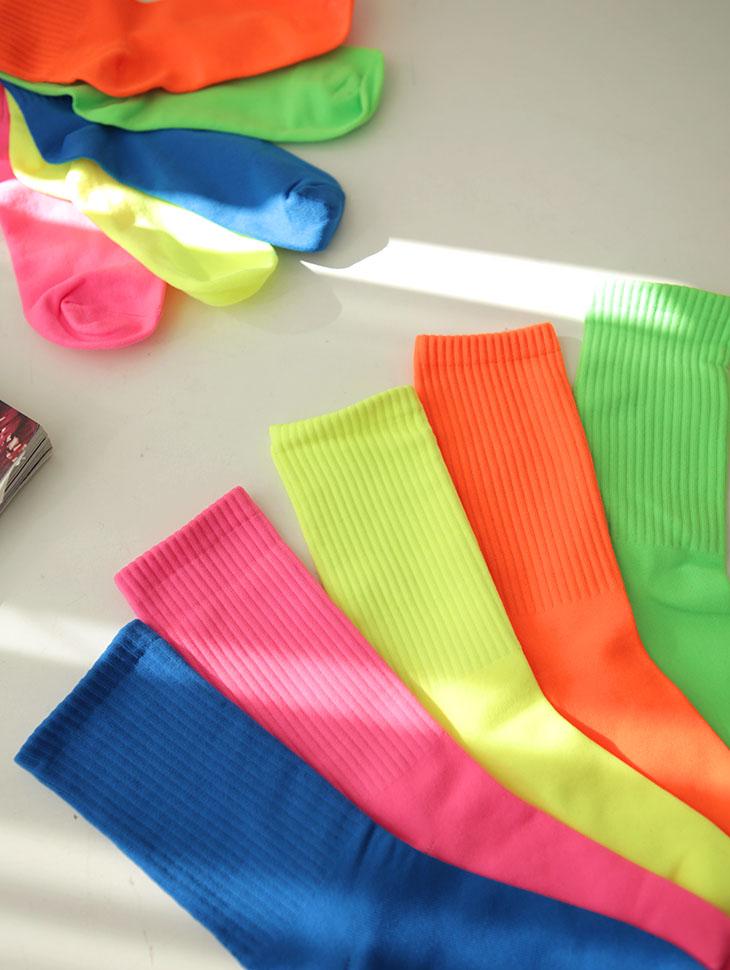 RE-186 鲜艳色彩袜