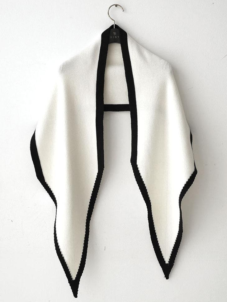 AS-1428 边线条设计披肩围巾