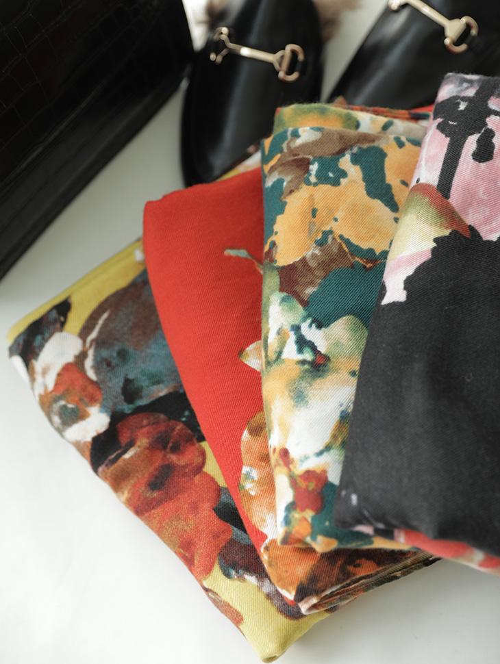 AS-1407 花纹领巾