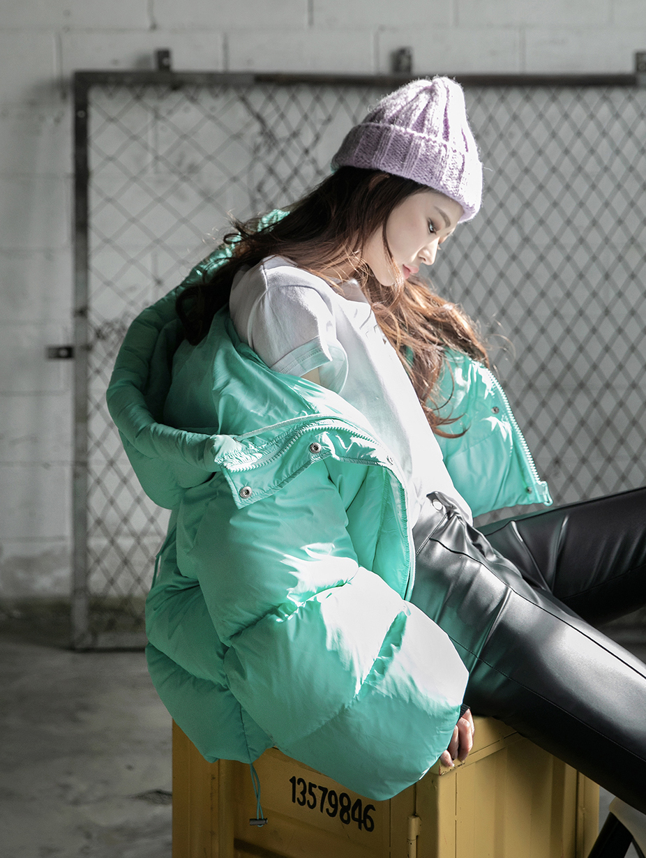J897 马卡龙鸭绒外套