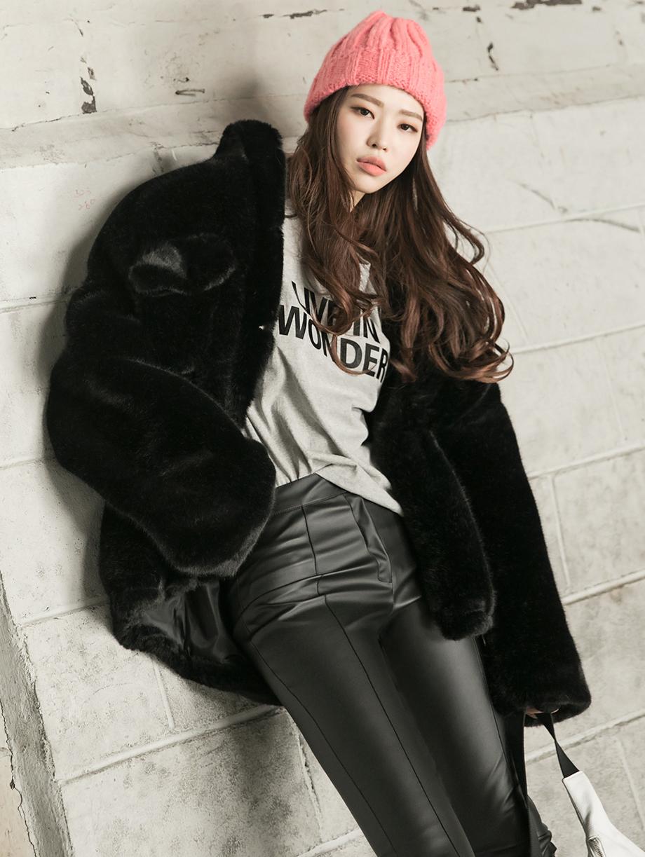 J901 舒适毛夹克